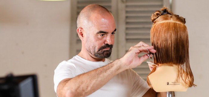 Andrew Barton Celebrity Hairdresser Launches BARTON BESPOKE in salon training