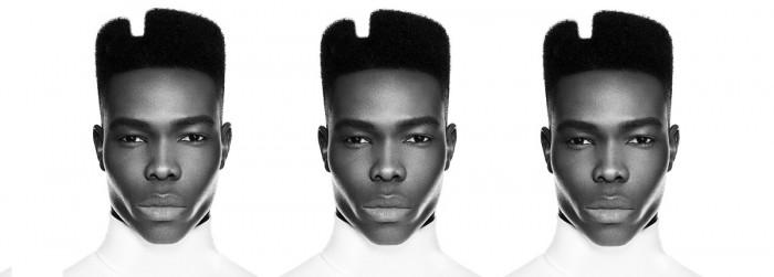 Men's Afro Hair Fade by award winning men's hairdressing expert, Jim Shaw