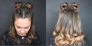 SJ Forbes Christmas hair tutorial - www.salonbusiness.co.uk