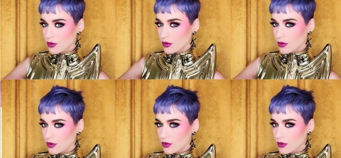 Katy Perry Goes Purple With JOICO For Her European Tour