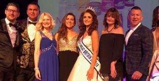 Miss GB with judge Barrie Stephen - www.salonbusiness.co.uk