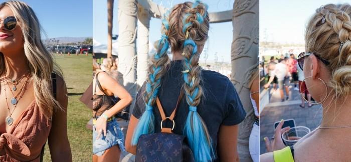 ghd x Coachella 2019: ghd creative artist festival hair trends