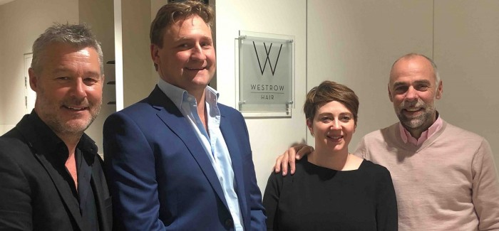 WESTROW COLLABORATES WITH EXCLUSIVE RUDDING PARK IN YORKSHIRE TO LAUNCH LUXURY HAIR SALON
