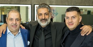 From left to right Co-Founder and Joint CEO, Andy Phouli. Co Founder and Joint CEO, Stell Andrew and CSO Peter Phouli - www.salonbusiness.co.uk