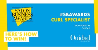 SBAWARDS curl specialist category - www.salonbusiness.co.uk