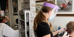 hairdressers visor - www.salonbusiness.co.uk