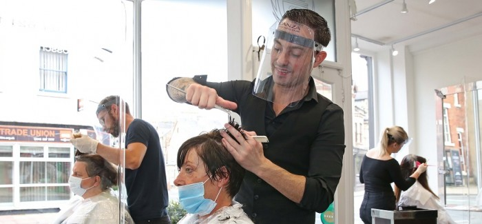 ROSS CHARLES HAIRDRESSING ON TAKING CARE OF THEIR TEAMS' WELLBEING