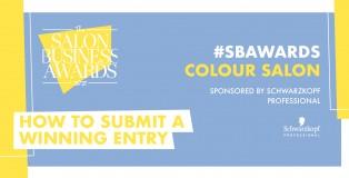 #SBAWARDS colour award - www.salonbusiness.co.uk
