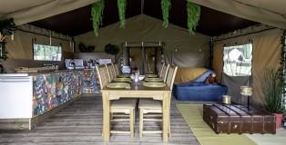 The Paddock, Belle Safari Tent - www.salonbusiness.co.uk