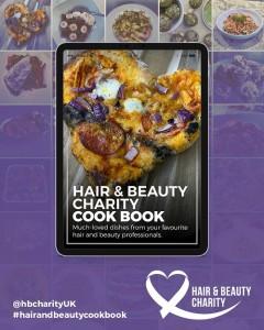 charity cookbook - www.salonbusiness.co.uk