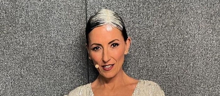 Recreate Davina McCalls' Feathered Root Look